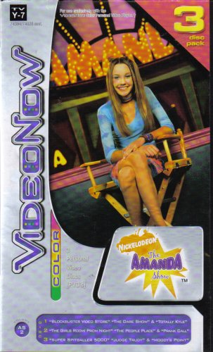 Nickelodeon The Amanda Show (VideoNow Color PVD)
