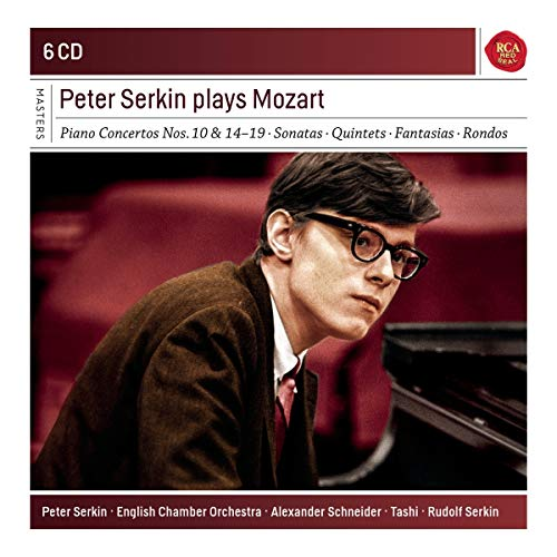 CD : PETER SERKIN - Peter Serkin Plays Mozart (CD)