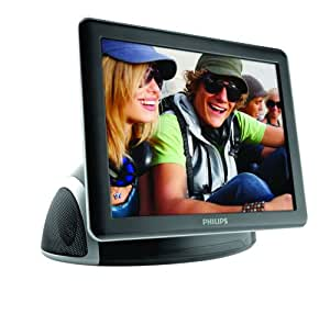 Philips SPF4080P/G7 8-Inch BoomBoom PhotoFrame and Gadget Hub (Piano Black)