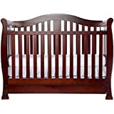 Dream On Me Addison Crib, Cherry (Discontinued by Manufacturer)