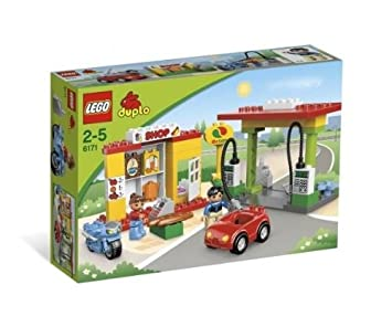 LEGO DUPLO LEGOville - 6171 - Jouet de Premier Âge - La Station-Service