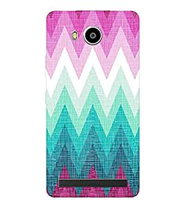 EPICCASE triangle case Mobile Back Case Cover For LENOVO A7700 (Designer Case)