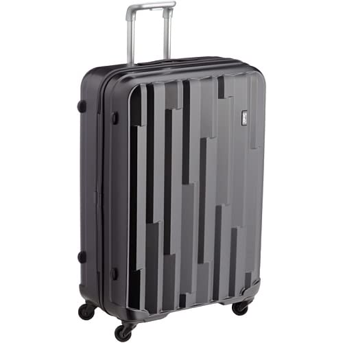 [ストラティック] Stratic Cliff /スーツケースLサイズ 4輪 100L 超軽量ハードタイプのキャリーケース 3-9546-75 001 /glossy black (ブラック)