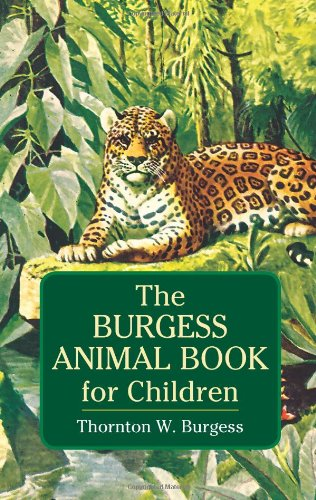 The Burgess Animal Book For Children (Dover Children'S Classics) front-922421
