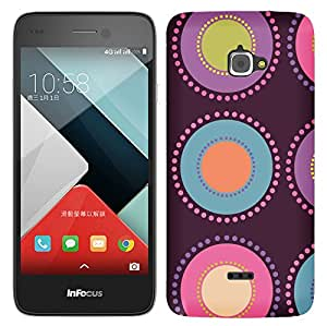 TrilMil Printed Designer Mobile Case Back Cover For InFocus M350