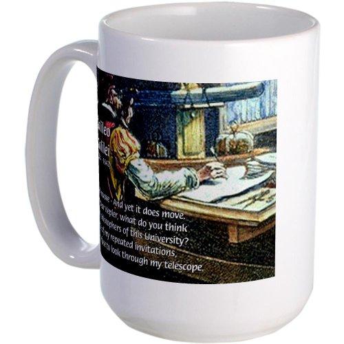 Cafepress Stubborn Resistance Galileo Large Mug - Standard