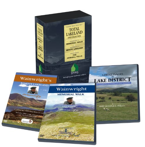 Total Lakeland includes The Wainwright Memorial Walk, Wainwright's Remote Lakeland and Great Walks - The Howgills. Spectacular scenery and walking in the Lake District. Presenters Eric Robson and Cameron McNeish (3-DVD box set)