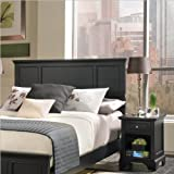2 Pc Bedford Bedroom Set - Ebony
