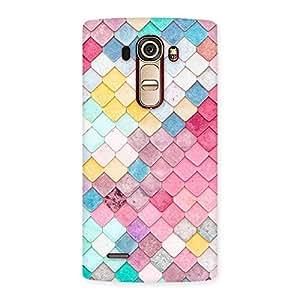 Impressive Rock Pattern Multicolor Back Case Cover for LG G4