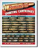 Tin Signs Remington Sign, Sporting Cartridges 1001