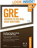 GRE: Answers to the Real Essay Questions: Everything You Need to Write a Top-Notch GRE Essay (Peterson's GRE Answers to the Real Essay Questions)