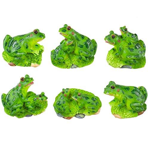 Frog 3-Dimensional Magnet Set Of 6 Magnets *New!*