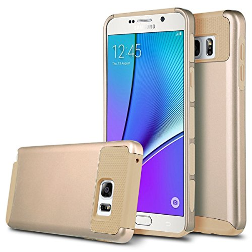 Note 5 Case, Galaxy Note 5 Case, Asstar Hybrid Dual Layer Plastic Hard Shell Flexible TPU Protective Shock Absorbing Impact Defender Slim Case Cover For Samsung Galaxy Note 5 (Gold) (New Balance 900 Men compare prices)