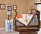 Nursery-To-Go 10-Piece Crib Set in It's a Jungle Out There