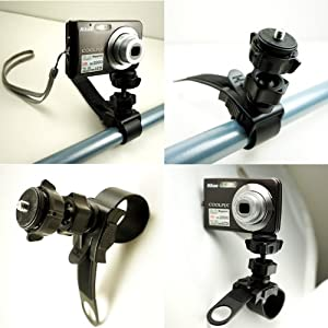 ChargerCity Strap on 360 degrees Swivel Adjustment Compact Camera Tripod