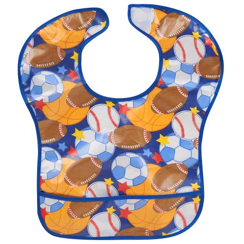 Babies R Us EZ-Wipe Bib - Sports