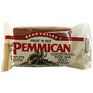 Amazon.com : Bear Valley Pemmican Bars, Fruit & Nut, 3.75 ...