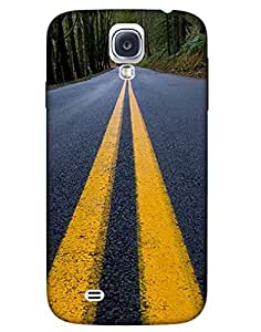 Bikzone Back Cover For Samsung Galaxy S4 (Multicolor)