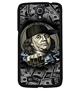 PRINTVISA Benjamin Thug Life Case Cover for Samsung Galaxy Mega 6.3 I9200