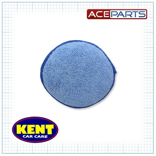 Kent Car Care Microfibre Polish Applicator Pad 5-inch - Blue