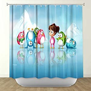 Amazon.com - Shower Curtain Artistic Designer from DiaNoche