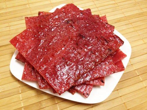 "Oriental Flame-Grilled Artisanal Pork Jerky (Aka Singapore Bak Kwa) - Original Flavor (1/2 Pound) - Named ""2013 Handmade Gift"" By Los Angeles Times"