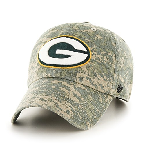 NFL Green Bay Packers '47 Officer Clean Up Camo Adjustable H
