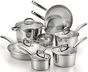 T-fal C836SD Ultimate Stainless Steel Copper-Bottom Heavy