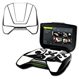 MightySkins Protective Vinyl Skin Decal NVIDIA Shield Portable Cover wrap Skins Sticker Solid White (Color: White, Tamaño: NVIDIA Shield Portable)