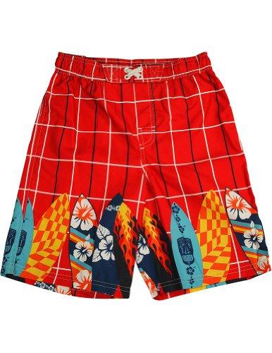 iXtreme - Big Boys Swim Suit, Red 33432-18