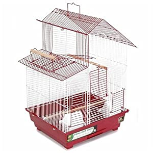 Prevue Hendryx Two - Tone House Style Bird Cage For Parakeet Sized Birds, Color - Blue