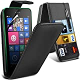 Nokia Lumia 630 Various Fitted Cases To Choose From Protective S line Hydro Wave Gel Skin Case Cover, Faux Leather Book Style Wallet, Faux Leather Flip, LCD Screen Protector Guard & Retractable Capacative Touch Screen Stylus Pen, In Car Charger, UK 3 Pin Mains Travel Charger By Spyrox