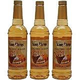 Jordans Skinny Gourmet Syrups, Pumpkin Caramel 25.4 Fluid Ounce (Pack of 3)- Sugar Free