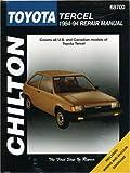 Toyota Tercel, 1984-94 (Chilton