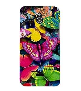 Vizagbeats butterflies colors Back Case Cover for Infocus M2