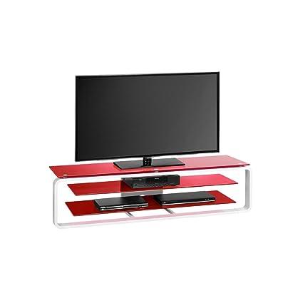TV-rack color concept color: rojo