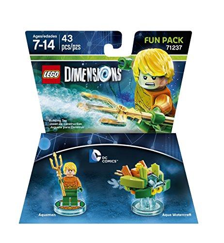 Warner Bros Lego Dimensions Aquaman Fun Pack - DC Aquaman Fun Pack Edition