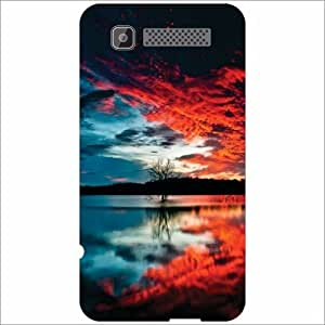 Intex Cloud Y11 Back Cover - Silicon Beauty of Nature Designer Cases