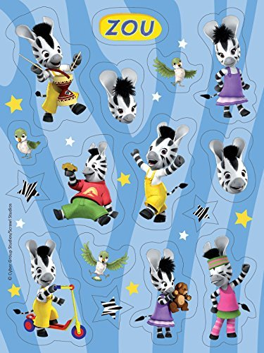 Zou Party Stickers (4 sheets) - 1