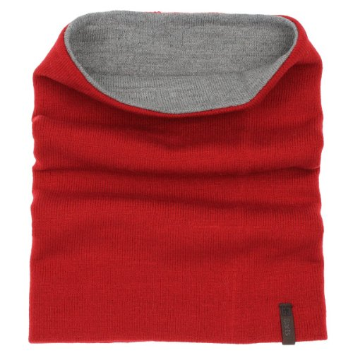 BARTS SCALDACOLLO REVERSIBILE ECLIPSE (RED/GRAY, ONE/SIZE)