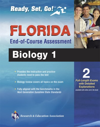 Florida Biology 1 End-Of-Course Assessment Book + Online (Florida Fcat & End-Of-Course Test Prep)