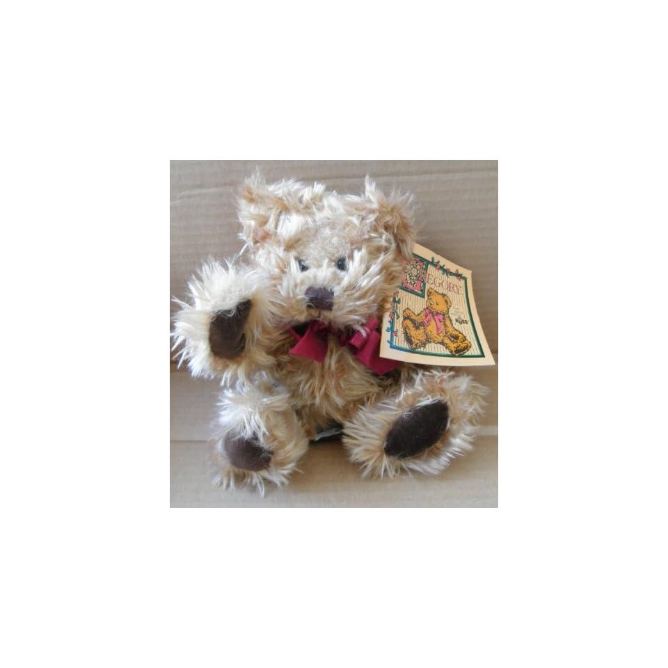Gregory the Teddy Bear Stuffed Animal Plush Toy   Created