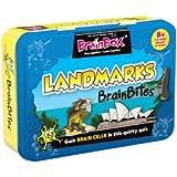 Green Board Games BrainBites Landmarks