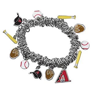 Game Time 101386 MLB Arizona Diamondbacks Stretch Bracelet by Game Time