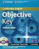 Objective Key 2nd Student's Book without Answers with CD-ROM