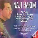 echange, troc  - Te Deum - Hymne De L'Univers Pour Orchestre - Missa Redemptionis Pour Choeur - Children Pour Choeur