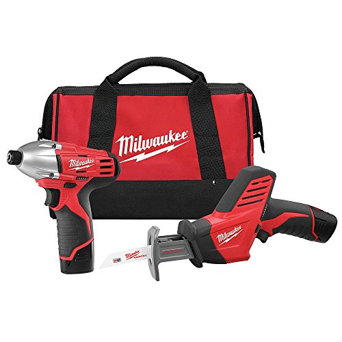 Cordless Milwaukee Tool Kit Combo