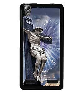 PRINTVISA Religious Jesus Christ Case Cover for Lenovo A6000