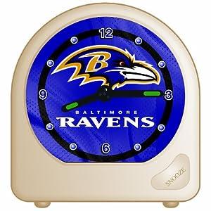 Wincraft NFL Baltimore Ravens Alarm Clock at Sears.com