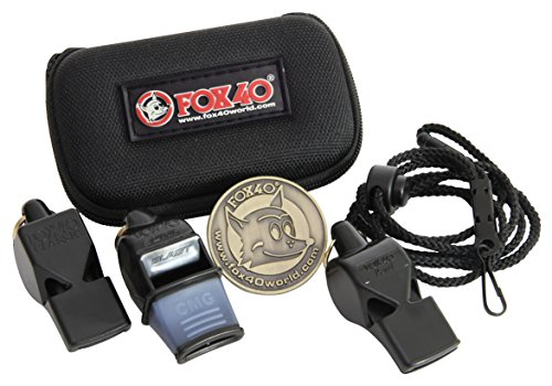 Fox 40 Whistle (Pack of 3) (Blast Whistle compare prices)